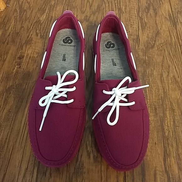 Clarks Step Maro Sand Boat Shoes